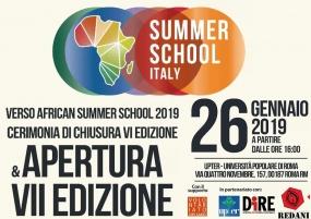African Summer School dal 17 al 21 Luglio - VENEZIA