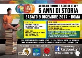 African Summer school Italy 2017